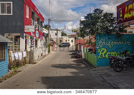 Scene Of Daily Life In The Town Of Bayahibe 28