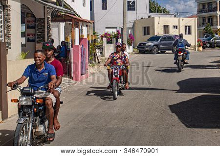 Scene Of Daily Life In The Town Of Bayahibe 30
