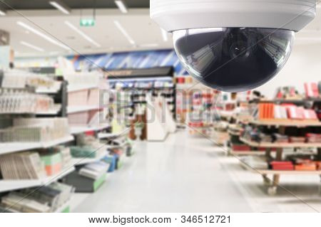 Cctv Surveillance Security Camera Transmit A Video And Audio Signal To A Wireless Receiver Through A