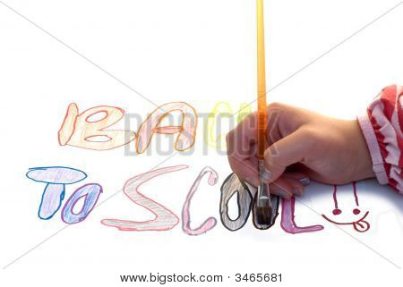 Painting Back To School