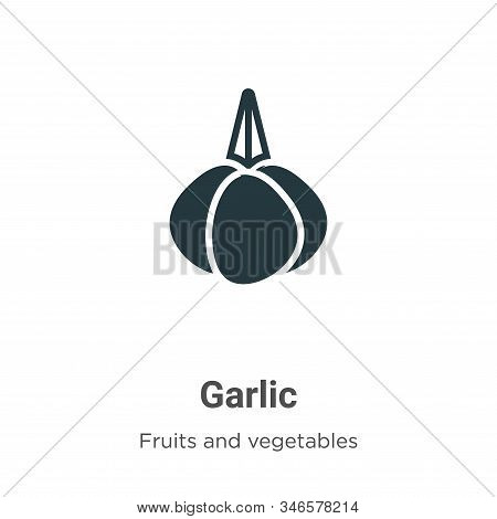 Garlic icon isolated on white background from fruits collection. Garlic icon trendy and modern Garli