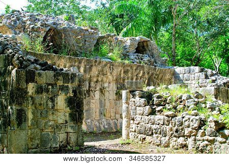 Chichen Itza Is One Of The Main Archaeological Sites Of The Yucatan Peninsula, In Mexico