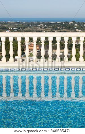 Luxury Spanish Villa Swimming Pool With The Sea View, Spain