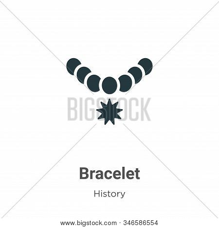 Bracelet icon isolated on white background from history collection. Bracelet icon trendy and modern