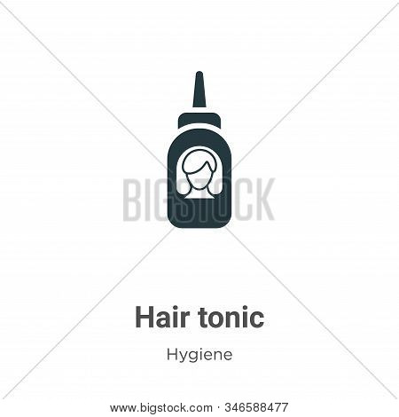 Hair tonic icon isolated on white background from hygiene collection. Hair tonic icon trendy and mod