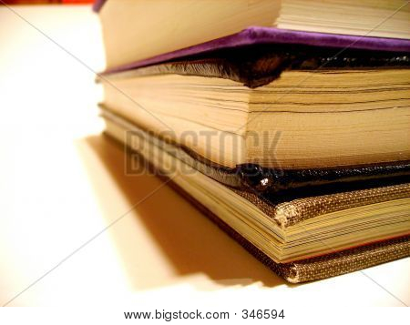 Books Up Close