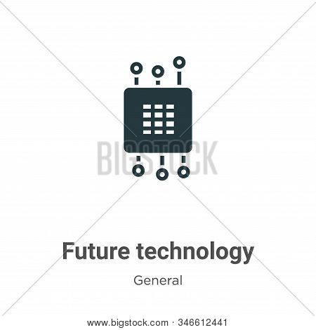 Future technology icon isolated on white background from general collection. Future technology icon