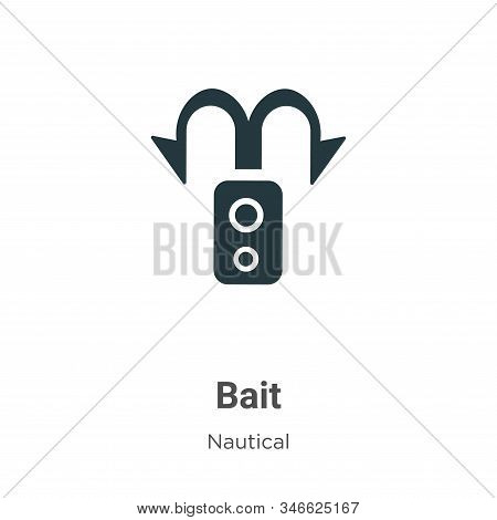 Bait icon isolated on white background from nautical collection. Bait icon trendy and modern Bait sy