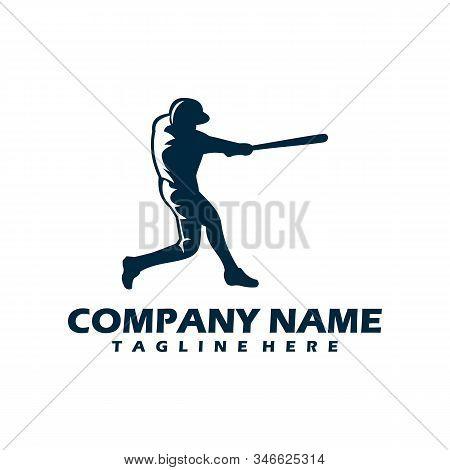Baseball Icon In Trendy Design Style. Baseball Icon Isolated On White Background. Baseball Vector Ic