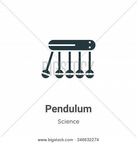 Pendulum icon isolated on white background from science collection. Pendulum icon trendy and modern