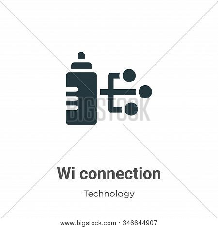 Wired connection icon isolated on white background from technology collection. Wired connection icon