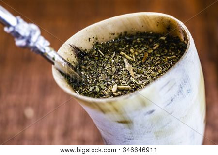 Tereré Ou Tererê Is A Typical South American Drink Made With The Infusion Of Yerba Mate In Cold Wate