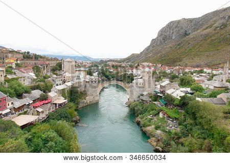 Mostar bridge - Mostar, Bosnia Herzegovina
