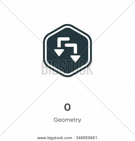 Redo icon isolated on white background from geometry collection. Redo icon trendy and modern Redo sy