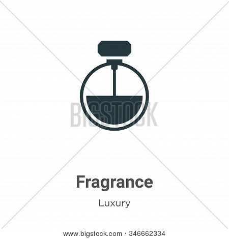 Fragrance icon isolated on white background from luxury collection. Fragrance icon trendy and modern