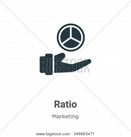 Ratio icon isolated on white background from marketing collection. Ratio icon trendy and modern Rati