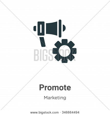 Promote icon isolated on white background from marketing collection. Promote icon trendy and modern