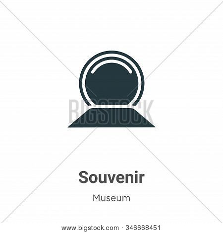 Souvenir icon isolated on white background from museum collection. Souvenir icon trendy and modern S