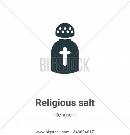 Religious salt icon isolated on white background from religion collection. Religious salt icon trend