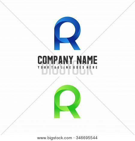 Vector Or Font R Which Has An Attractive Shape And Can Be Used As A Logo