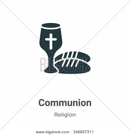 Communion icon isolated on white background from religion collection. Communion icon trendy and mode