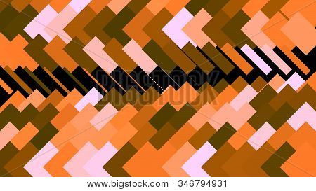 Abstract Animation Of Colorful Background Of Strokes And Triangular Shape. Animation. Background Mov
