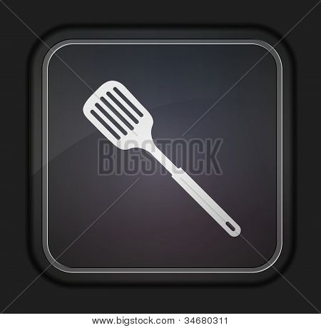 Slotted Kitchen Spoon.eps
