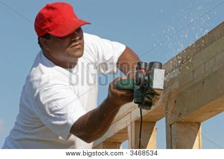 Polishing Wood Frame