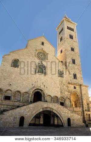 Cathedral San Nicola Pellegrino In Trani, Italy