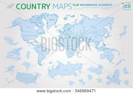America, Asia, Africa, Europe, Australia, Oceania, Mexico, Japan, Canada, Brazil, Usa, Russia, China