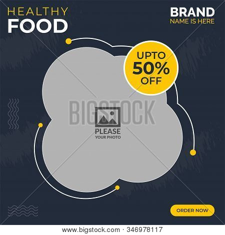 Food Instagram Social Vector Photo Free Trial Bigstock