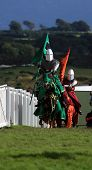 Knights of the Damned jousting stunt team at the Anglesey Show poster