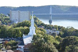 Mid-hudson Bridge In Poughkeepsie, New York (usa)