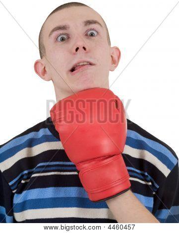 Man Taking A Punch