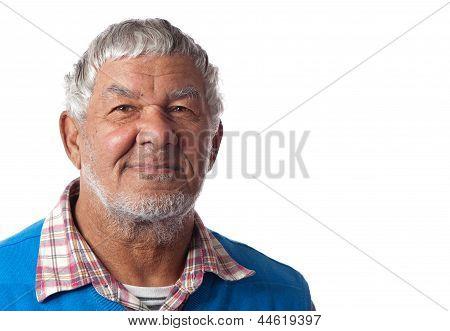 Friendly Elderly Gentleman