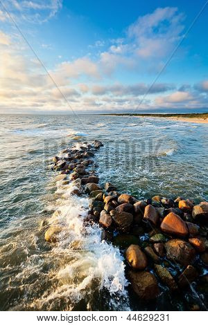 Stones In Sea Water