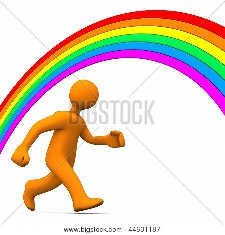 Rainbow Run Away