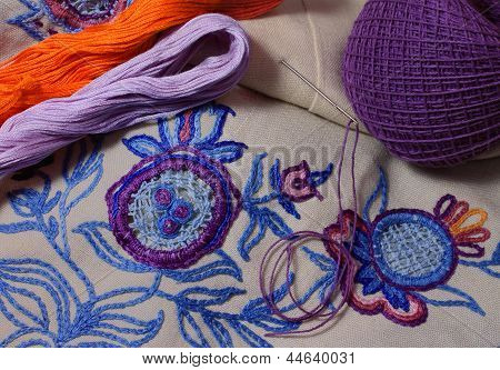 Embroidery Loops