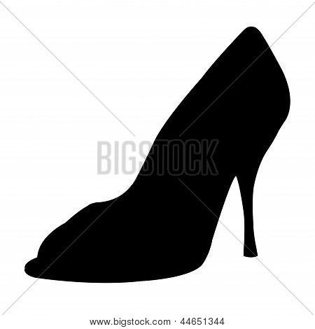 High Heel Shoes Silhouette