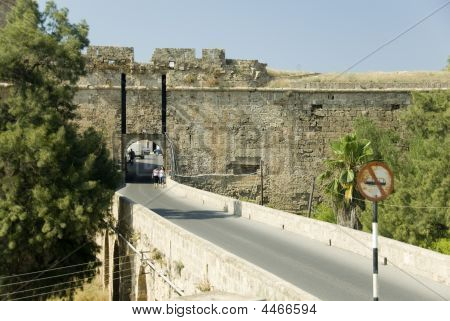 Old Town Wall And Gateway, Famagusta, Cyprus