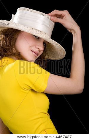 Womam In The Yellow Blouse