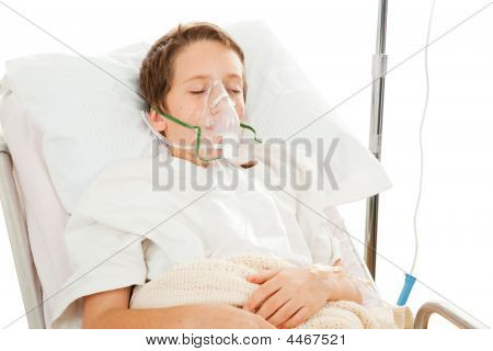 Child In Hospital