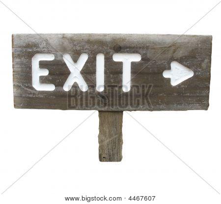 Wood Exit