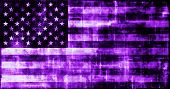 A Virtual America USA Flag Online Technology poster