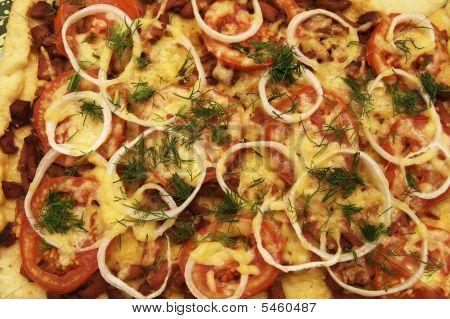 Pizza Topview