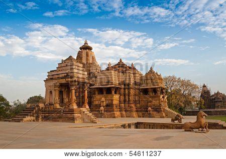 Devi Jagdambi Temple, Dedicated To Parvati, Western Temples Of Khajuraho. Unesco World Heritage Site