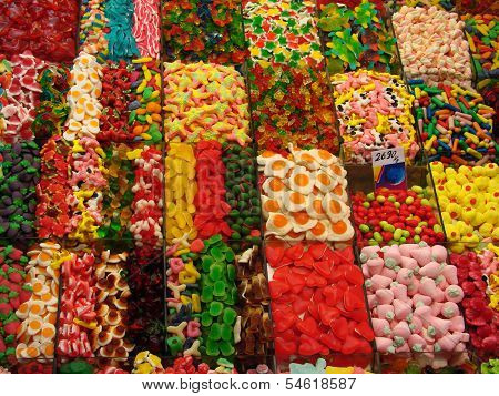 Stall With Sweets