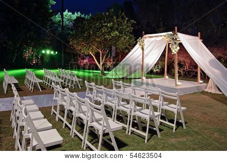 Jewish Wedding Ceremony Canopy (chuppah Or Huppah)