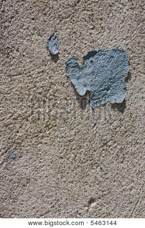 Peeling Blue Concrete