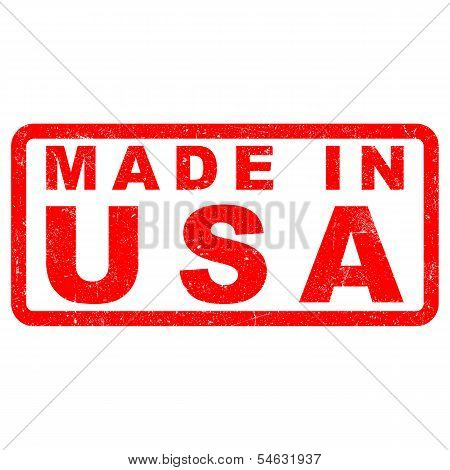 Stamp of Made in USA
